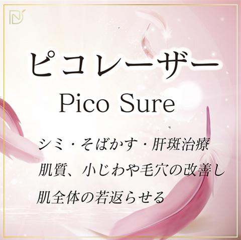 ピコレーザー Pico Sure